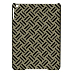 Woven2 Black Marble & Khaki Fabric Ipad Air Hardshell Cases by trendistuff