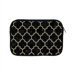 Tile1 Black Marble & Khaki Fabric (r) Apple Macbook Pro 15  Zipper Case by trendistuff