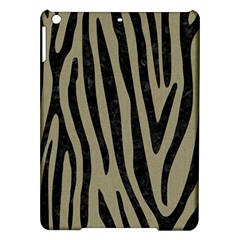 Skin4 Black Marble & Khaki Fabric (r) Ipad Air Hardshell Cases by trendistuff