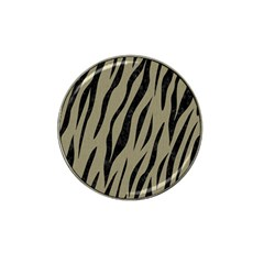 Skin3 Black Marble & Khaki Fabric Hat Clip Ball Marker (4 Pack) by trendistuff