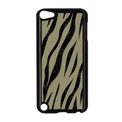 Skin3 Black Marble & Khaki Fabric Apple Ipod Touch 5 Case (black) by trendistuff