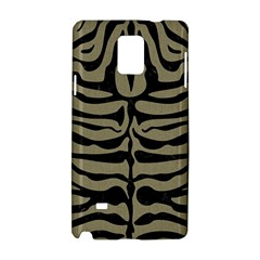 Skin2 Black Marble & Khaki Fabric Samsung Galaxy Note 4 Hardshell Case by trendistuff