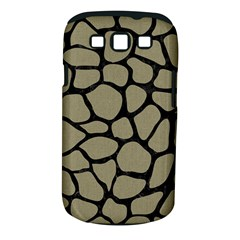 Skin1 Black Marble & Khaki Fabric (r) Samsung Galaxy S Iii Classic Hardshell Case (pc+silicone) by trendistuff