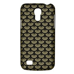 Scales3 Black Marble & Khaki Fabric Galaxy S4 Mini by trendistuff