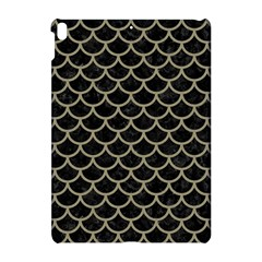 Scales1 Black Marble & Khaki Fabric (r) Apple Ipad Pro 10 5   Hardshell Case by trendistuff