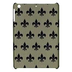 Royal1 Black Marble & Khaki Fabric (r) Apple Ipad Mini Hardshell Case by trendistuff