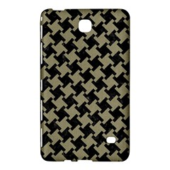 Houndstooth2 Black Marble & Khaki Fabric Samsung Galaxy Tab 4 (8 ) Hardshell Case  by trendistuff
