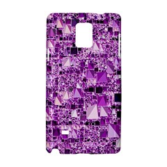 Modern Geo Fun,lilac Samsung Galaxy Note 4 Hardshell Case by MoreColorsinLife