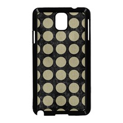 Circles1 Black Marble & Khaki Fabric (r) Samsung Galaxy Note 3 Neo Hardshell Case (black) by trendistuff