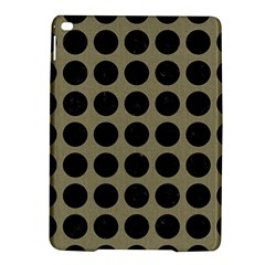 Circles1 Black Marble & Khaki Fabric Ipad Air 2 Hardshell Cases by trendistuff