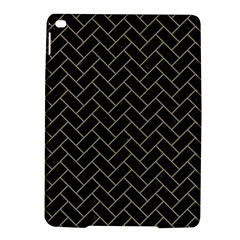 Brick2 Black Marble & Khaki Fabric (r) Ipad Air 2 Hardshell Cases by trendistuff