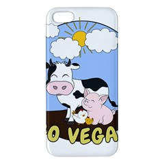 Friends Not Food   Cute Pig And Chicken Iphone 5s/ Se Premium Hardshell Case by Valentinaart
