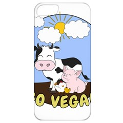 Friends Not Food   Cute Pig And Chicken Apple Iphone 5 Classic Hardshell Case by Valentinaart