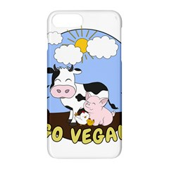 Friends Not Food   Cute Pig And Chicken Apple Iphone 8 Plus Hardshell Case by Valentinaart