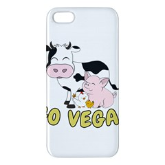 Friends Not Food   Cute Pig And Chicken Apple Iphone 5 Premium Hardshell Case by Valentinaart