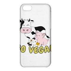 Friends Not Food   Cute Pig And Chicken Apple Iphone 5c Hardshell Case by Valentinaart