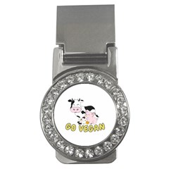 Friends Not Food   Cute Pig And Chicken Money Clips (cz)