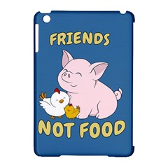 Friends Not Food   Cute Pig And Chicken Apple Ipad Mini Hardshell Case (compatible With Smart Cover)