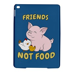 Friends Not Food   Cute Pig And Chicken Ipad Air 2 Hardshell Cases by Valentinaart