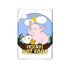 Friends Not Food   Cute Pig And Chicken Ipad Mini 2 Hardshell Cases