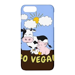 Friends Not Food   Cute Cow, Pig And Chicken Apple Iphone 8 Plus Hardshell Case by Valentinaart