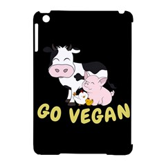 Friends Not Food   Cute Cow, Pig And Chicken Apple Ipad Mini Hardshell Case (compatible With Smart Cover)