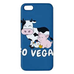 Friends Not Food   Cute Cow, Pig And Chicken Apple Iphone 5 Premium Hardshell Case