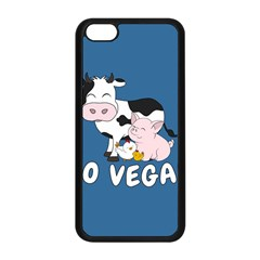 Friends Not Food   Cute Cow, Pig And Chicken Apple Iphone 5c Seamless Case (black) by Valentinaart