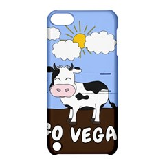 Friends Not Food   Cute Cow Apple Ipod Touch 5 Hardshell Case With Stand