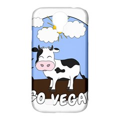 Friends Not Food   Cute Cow Samsung Galaxy S4 Classic Hardshell Case (pc+silicone) by Valentinaart