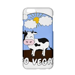 Friends Not Food   Cute Cow Apple Iphone 6/6s Hardshell Case by Valentinaart
