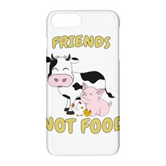 Friends Not Food   Cute Cow, Pig And Chicken Apple Iphone 7 Plus Hardshell Case by Valentinaart