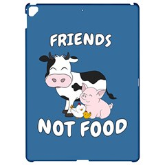 Friends Not Food   Cute Cow, Pig And Chicken Apple Ipad Pro 12 9   Hardshell Case by Valentinaart
