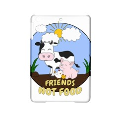 Friends Not Food   Cute Cow, Pig And Chicken Ipad Mini 2 Hardshell Cases by Valentinaart