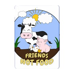 Friends Not Food   Cute Cow, Pig And Chicken Apple Ipad Pro 10 5   Hardshell Case by Valentinaart