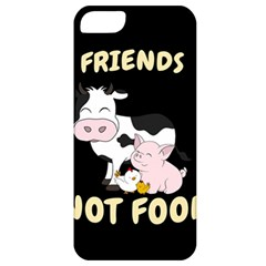 Friends Not Food   Cute Cow, Pig And Chicken Apple Iphone 5 Classic Hardshell Case by Valentinaart