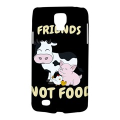 Friends Not Food   Cute Cow, Pig And Chicken Galaxy S4 Active by Valentinaart