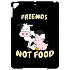 Friends Not Food   Cute Cow, Pig And Chicken Apple Ipad Pro 9 7   Hardshell Case by Valentinaart