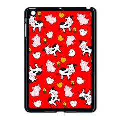 The Farm Pattern Apple Ipad Mini Case (black)