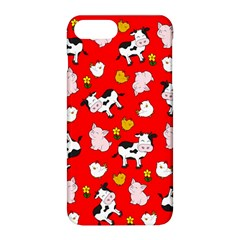 The Farm Pattern Apple Iphone 8 Plus Hardshell Case by Valentinaart