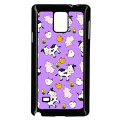 The Farm Pattern Samsung Galaxy Note 4 Case (black)