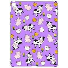 The Farm Pattern Apple Ipad Pro 12 9   Hardshell Case by Valentinaart