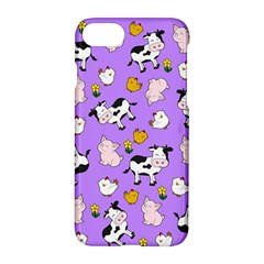 The Farm Pattern Apple Iphone 8 Hardshell Case by Valentinaart