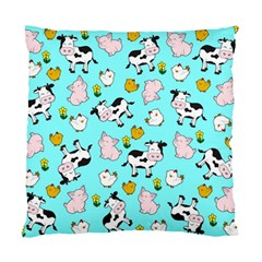 The Farm Pattern Standard Cushion Case (one Side) by Valentinaart