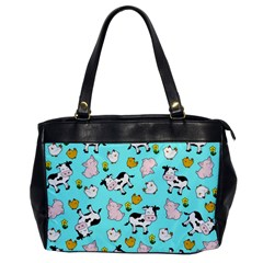 The Farm Pattern Office Handbags