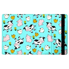 The Farm Pattern Apple Ipad 3/4 Flip Case