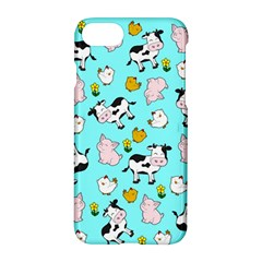 The Farm Pattern Apple Iphone 7 Hardshell Case by Valentinaart