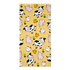 The Farm Pattern Shower Curtain 36  X 72  (stall)  by Valentinaart