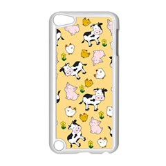 The Farm Pattern Apple Ipod Touch 5 Case (white) by Valentinaart