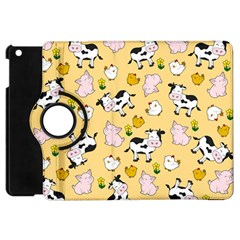 The Farm Pattern Apple Ipad Mini Flip 360 Case